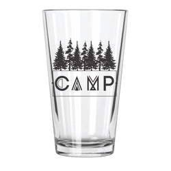 Camp - Northern Glasses Pint Glass