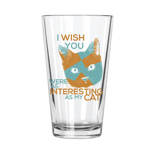 My Cat > You Pint Glass