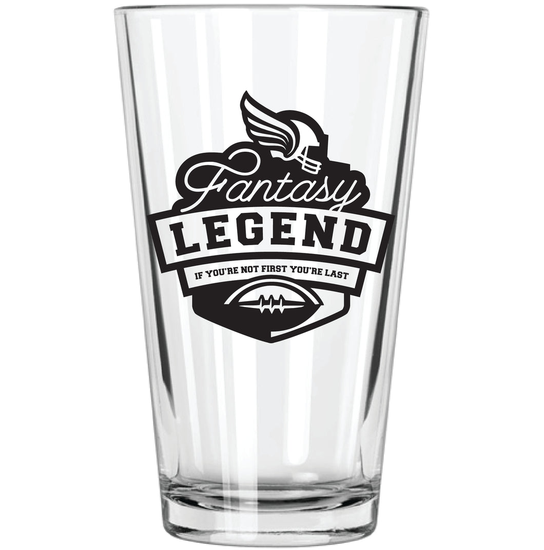 Fantasy Football Pint Glass - Northern Glasses Pint Glass