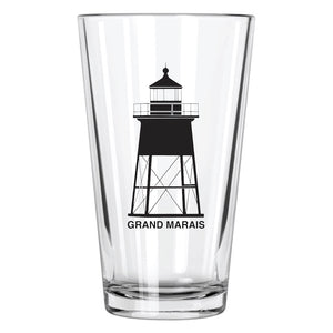 Grand Marais Pint Glass