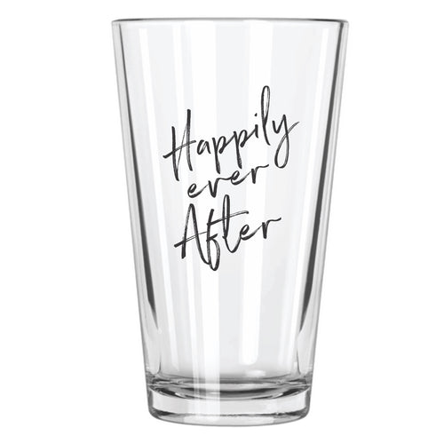 Happily Ever After Pint Glass - Northern Glasses Pint Glass