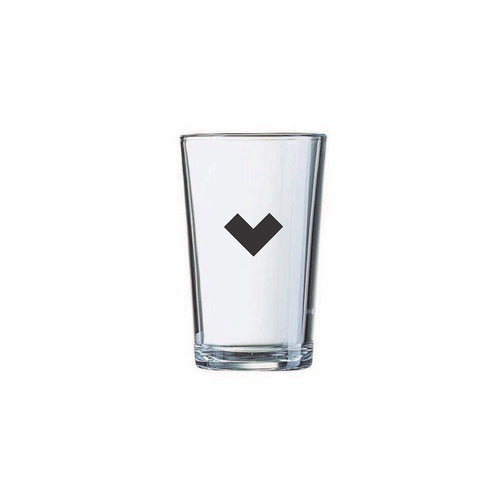 Heart Juice Glass - Northern Glasses Pint Glass