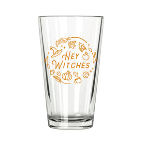 Hey Witches Pint Glass - Northern Glasses Pint Glass