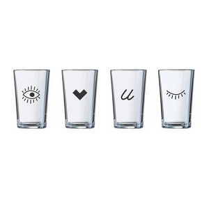 Eye Juice Glass - Northern Glasses Pint Glass