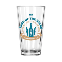 King of the Beers Pint Glass | Northern Glasses