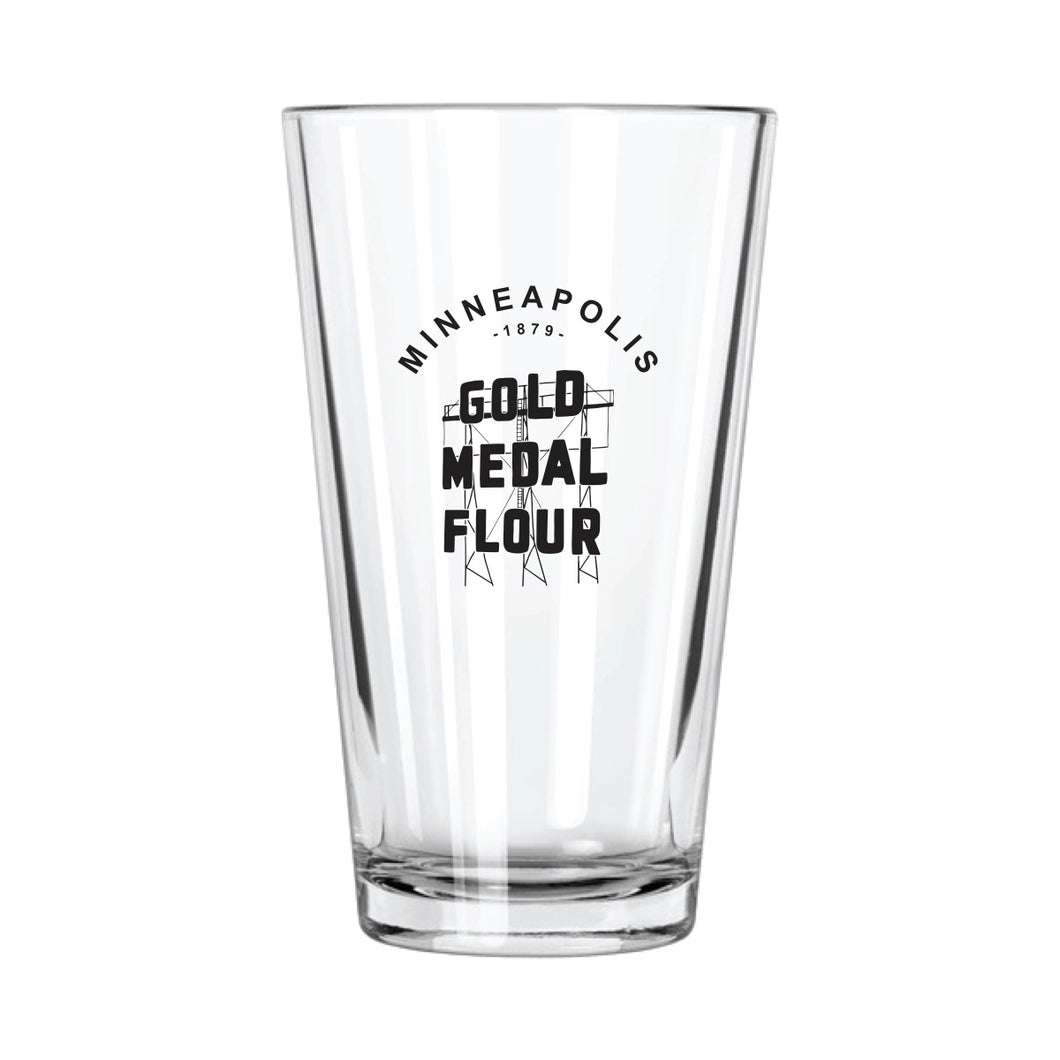 Gold Medal Flour Pint Glass | Northern Glasses