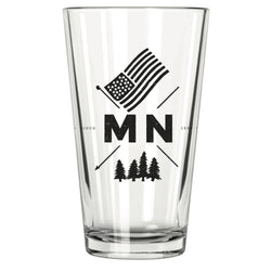 MN Crest Pint Glass