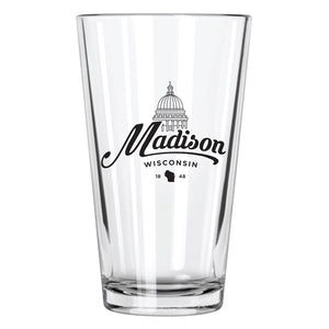 Madison Pint Glass - Northern Glasses Pint Glass