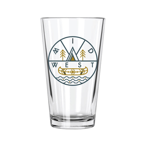 Midwest Pint Glass - Northern Glasses Pint Glass