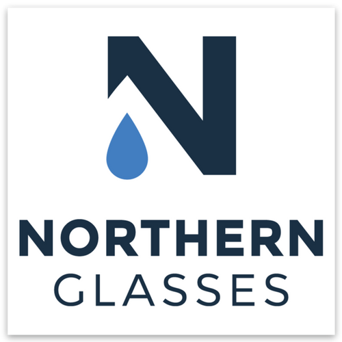 Northern Glasses Sticker - Northern Glasses Pint Glass