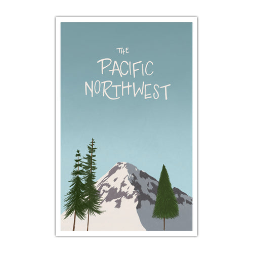 Pacific Northwest Poster