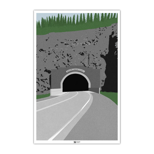 Silver Creek Cliff Poster