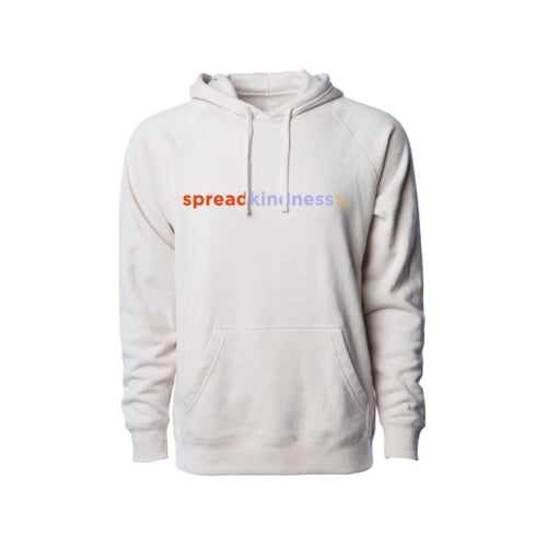 Spread Kindness Premium Hoodie (Heather Stone) | Custom + Kind
