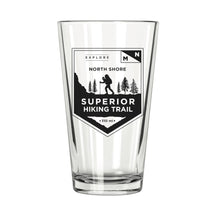 Superior Hiking Trail Sticker - Northern Glasses Pint Glass