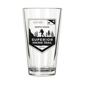 Explore MN: North Shore Superior Hiking Trail Pint Glass