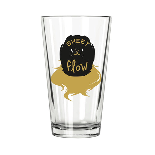 Hockey Flow Pint Glass | Northern Glasses