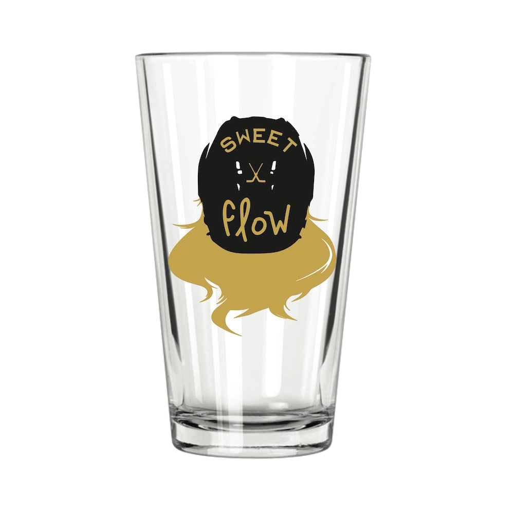 Hockey Flow Pint Glass - Northern Glasses Pint Glass