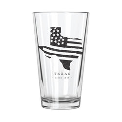 American Road Trip: Texas Pint Glass - Northern Glasses Pint Glass
