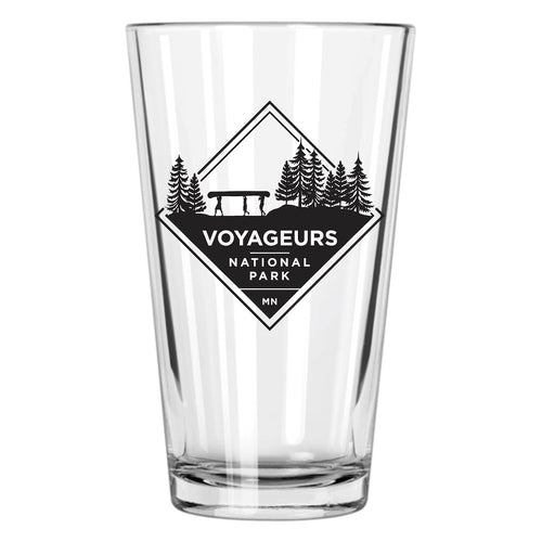 Voyageurs National Park Pint Glass