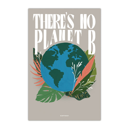 There is No Planet B Poster - Northern Glasses Pint Glass