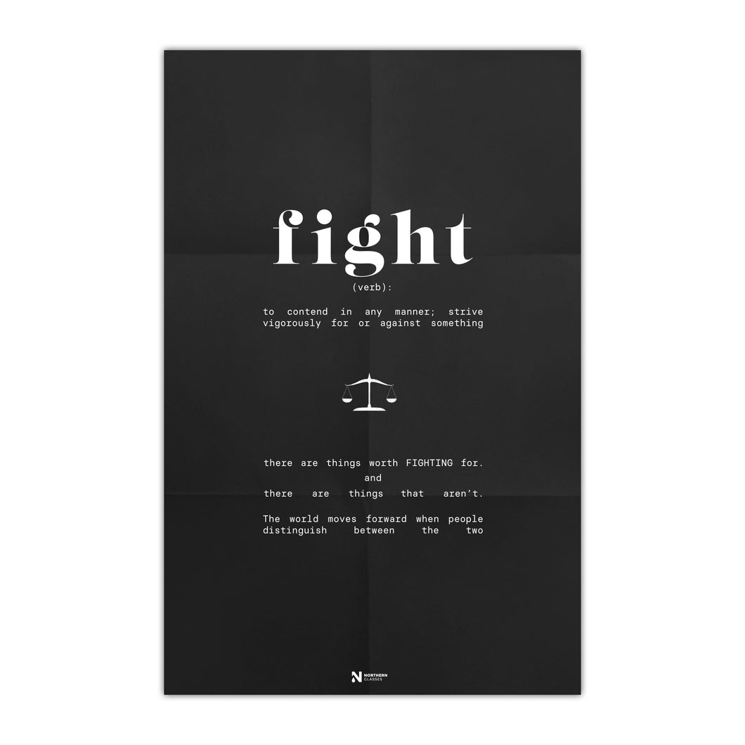 Fight For Something Poster