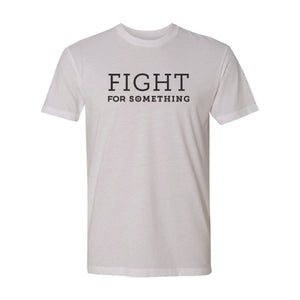 Fight For Something Premium Sueded T-Shirt - Northern Glasses Pint Glass