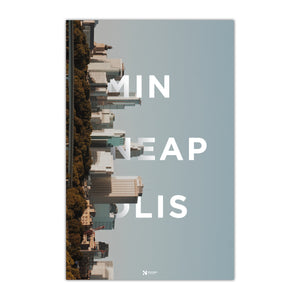 Minneapolis Skyline Poster