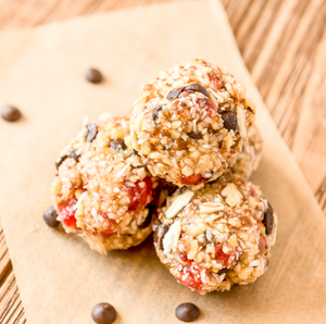 Chocolate Chip Trail Mix Energy Balls