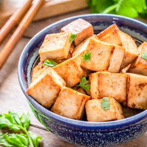 Almond Butter Tofu Stir Fry