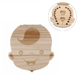 Wooden Storage Box for Baby Teeth - Boys and Girls versions
