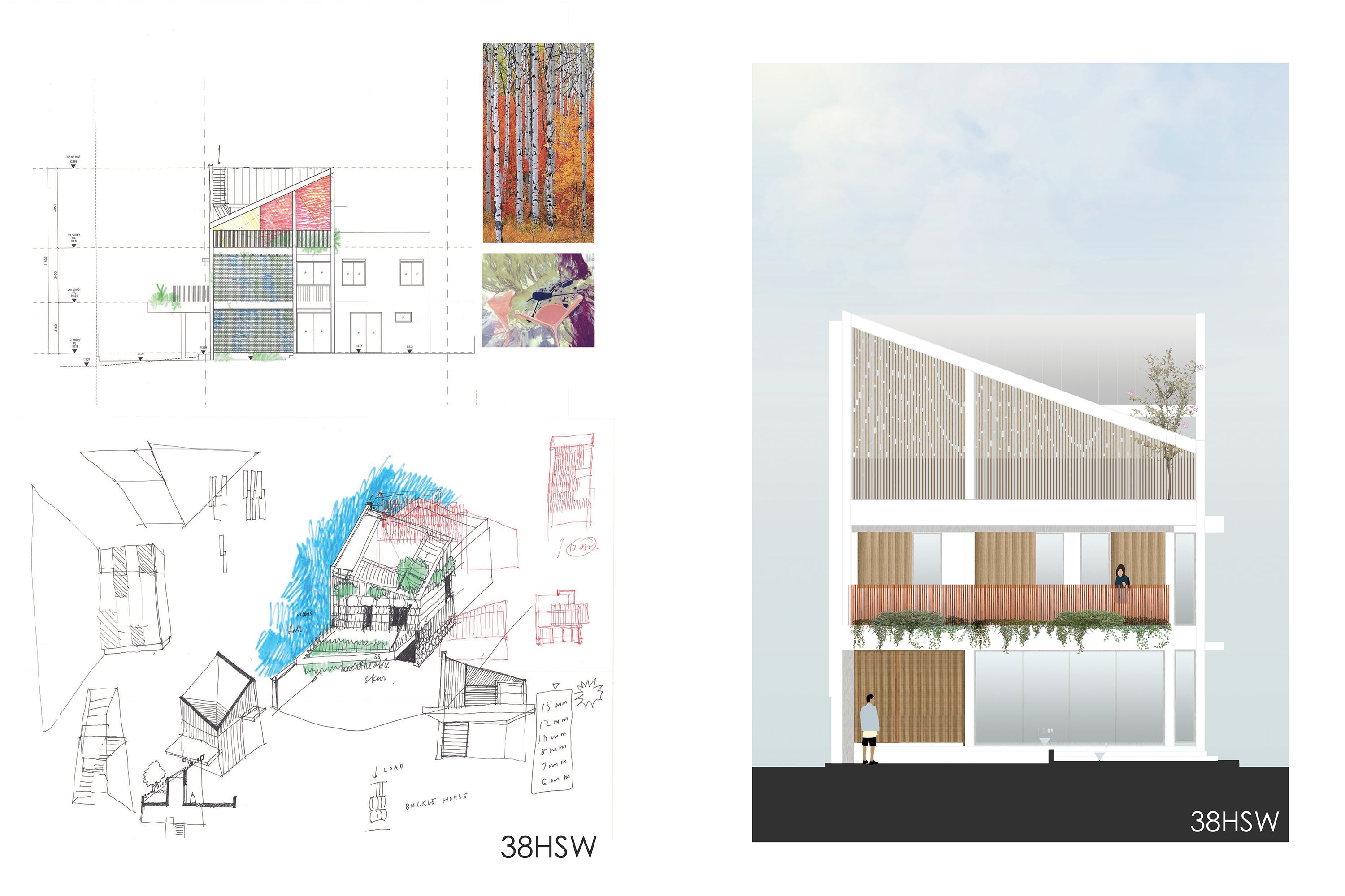 An Architect's Sketch — Bhatch Architects
