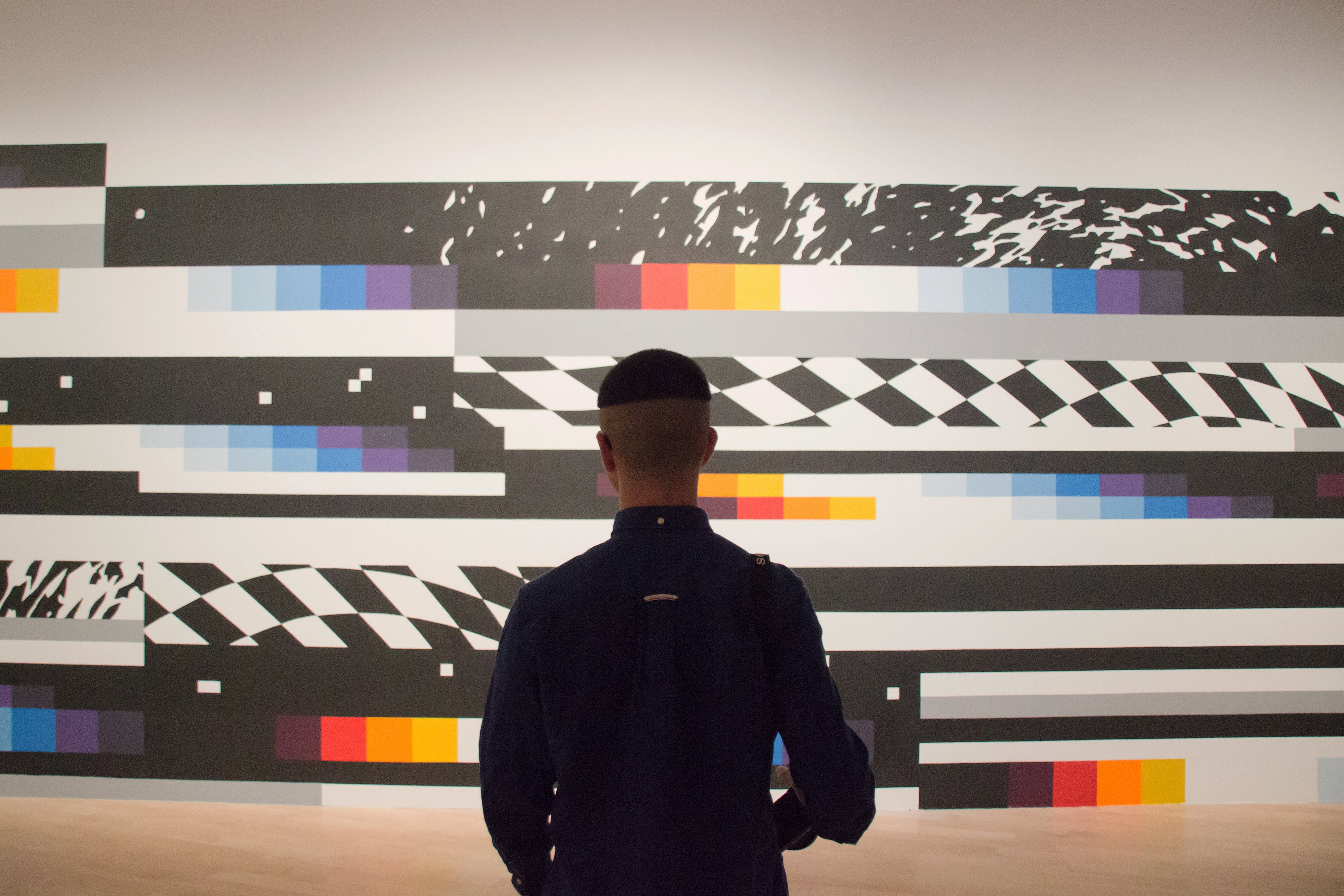 "Felipe Pantone at Art From The Streets: ""I think that technology has initiated street art."""