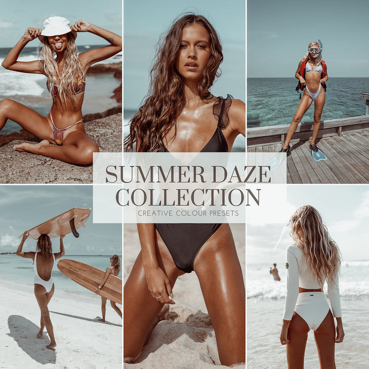 SUMMER DAZE - PHOTOGRAPHY PRESETS