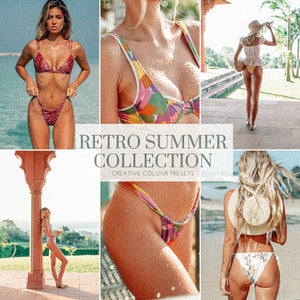 RETRO SUMMER - PHOTOGRAPHY PRESETS