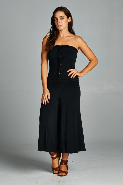 Essential Black Resort Jumpsuit