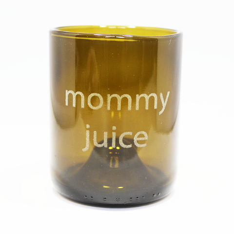 Mommy Juice Refresh Glass