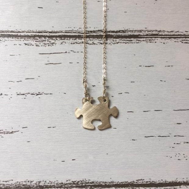 Puzzle Collection - Sterling Silver Necklace