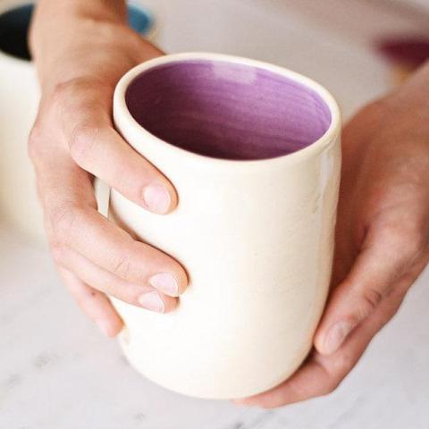 Ceramic Squeeze Cups