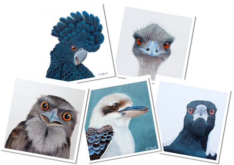 Gift Cards - Bird Collection