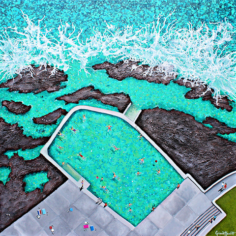 'Kiama Ocean Pool - Black Beach'