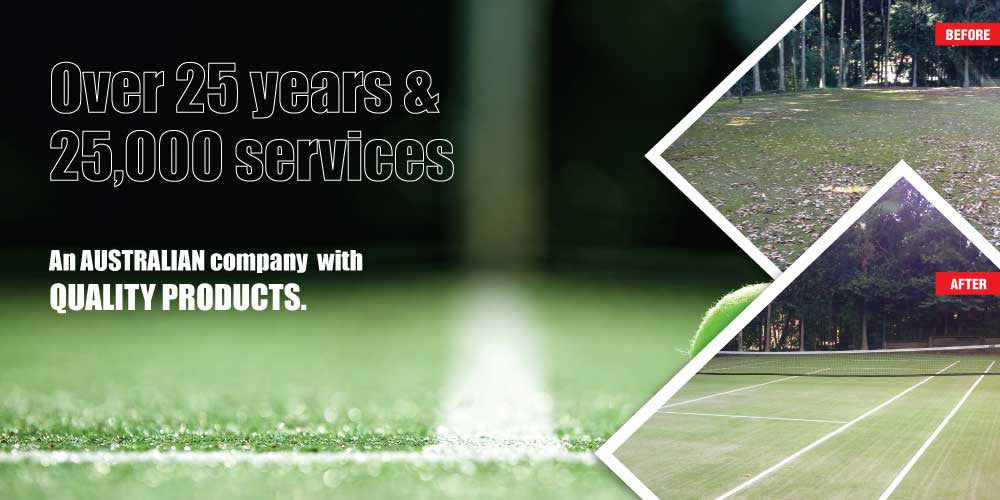 Tennis Court Products Australia | 25 years experience Quality Products