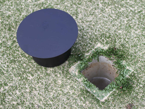 Tennis Post Hole Cover Pair | Sportzing Tennis Australia