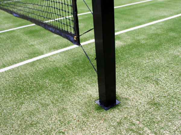 Tennis Post Flanges - Pair | Sportzing Tennis Australia
