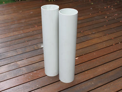 Tennis Post PVC Sleeve Pair