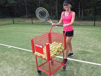 Tennis Teaching Ball Cart - 350 Ball | Sportzing Tennis Australia