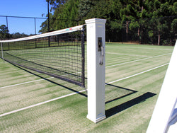 Timber Tennis Post Pair