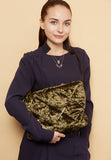 Baroque Charm Cusion Quilted Clutch - MY FLASH TRASH