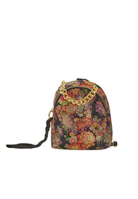 Peony Jacquard Multi function backpack