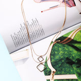 Duo Geo Necklace
