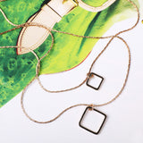 Duo Geo Necklace - MY FLASH TRASH